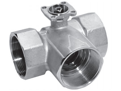 Trojcestný regulační kulový kohout Belimo R3015-1-S1 (R 308K)