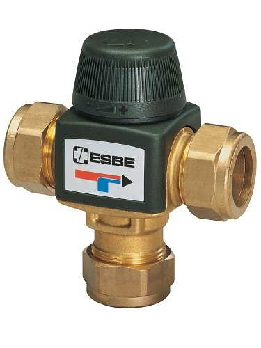 Termostatický směšovací ventil ESBE VTA 313 35-60 °C CPF 22 mm