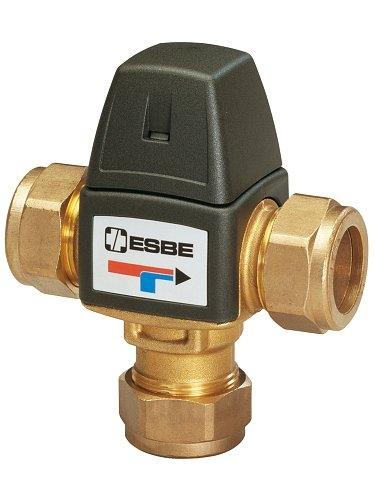 Termostatický směšovací ventil ESBE VTA 323 35-60 °C CPF 22 mm