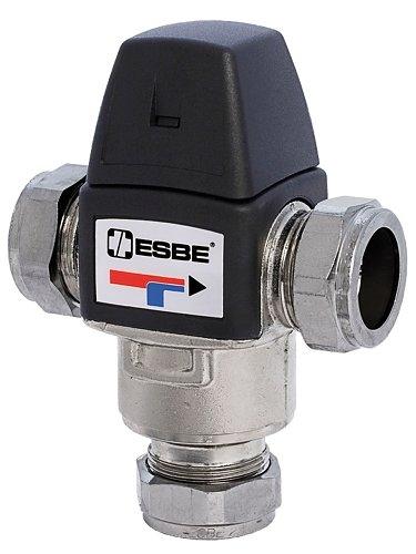 Termostatický směšovací ventil ESBE VTA 333 35-60 °C CPF 15 mm