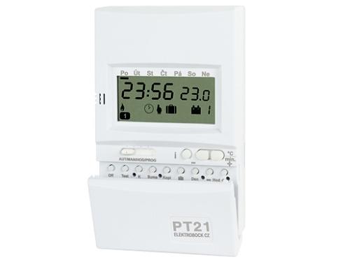 Prostorový termostat Elektrobock PT21