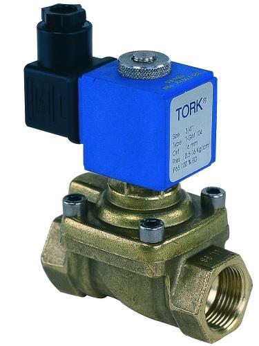 Elektromagnetický solenoidový ventil TORK T-GZN103 DN 15