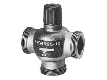 Trojcestný litinový ventil DN25 Siemens VXG 48.25