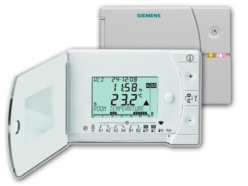 Bezdrátový termostat Siemens REV 24 RFDC/SET