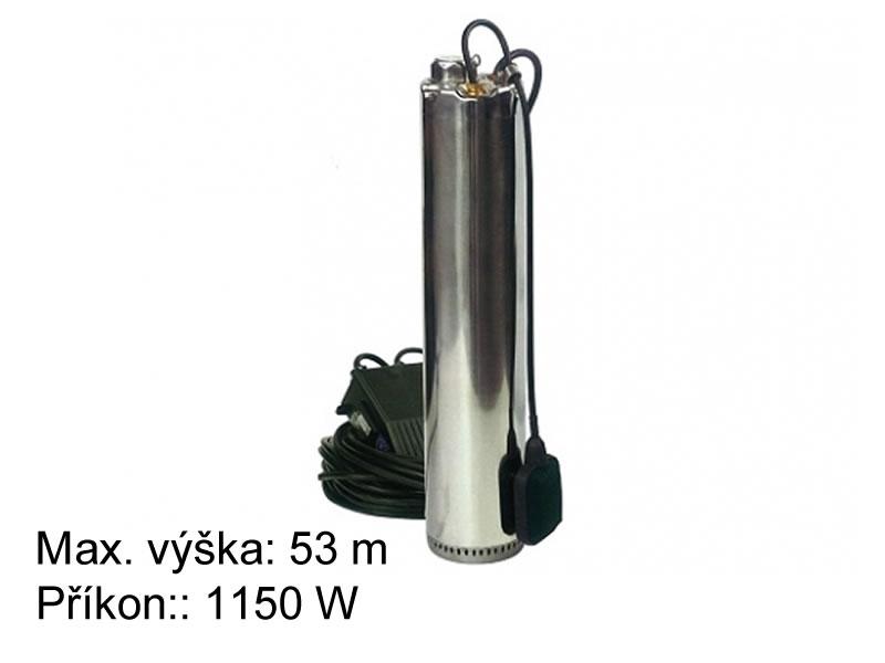 Ponorné čerpadlo do studní s plovákem Wilo TWIS 5-305 EM-A + kabel 20 m