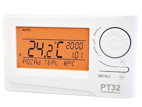 Inteligentní prostorový termostat Elektrobock PT32