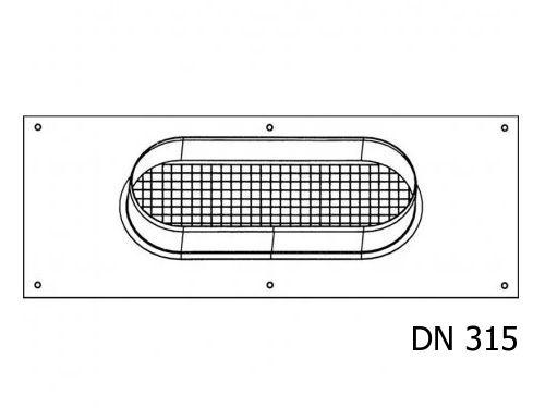 Deska pro připojení vzduchové hadice Stiebel Eltron DN 315