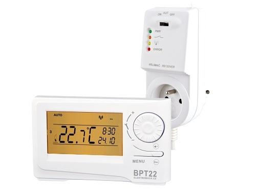 Bezdrátový prostorový termostat ELEKTROBOCK BPT22 (BT22)