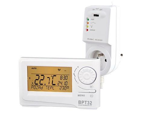 Digitální bezdrátový termostat Elektrobock BPT32