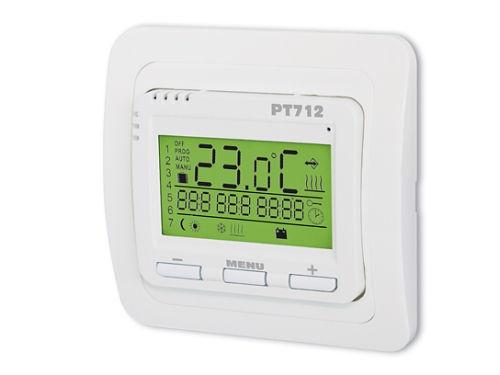 Termostat pro podlahové vytápění Elektrobock PT712