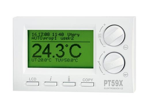Digitální termostat Elektrobock PT59X s OT komunikací