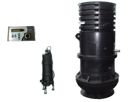 Přečerpávací jímka Wilo WS 825 Set EM 400V