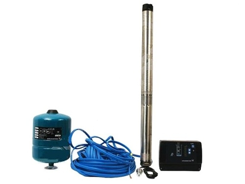Sada pro udržování konstantního tlaku Grundfos SQE 3-105+80m kab
