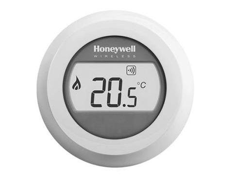 Bezdrátový jednozónový prostorový termostat ROUND Honeywell T87RF2025