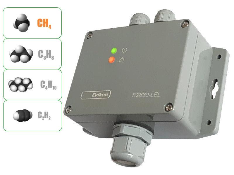 Detektor plynu pro hořlavé plyny EVIKON E2630-LEL