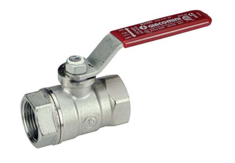Chromovaný kulový kohout Giacomini R250D DN 10