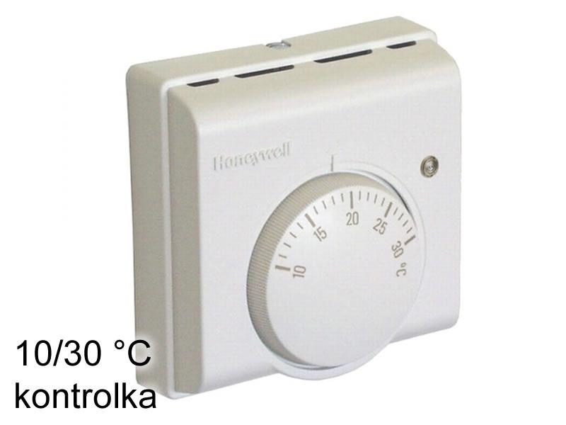 Prostorový termostat Honeywell 10/30 °C kontrolka