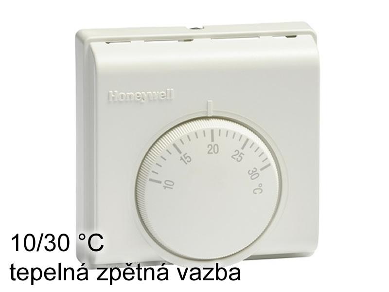 Prostorový termostat Honeywell 10/30 °C tep. zpětná vazba