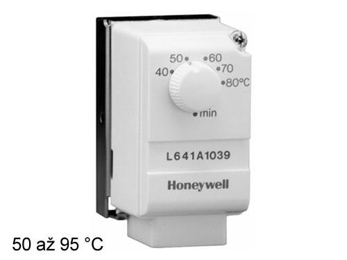 Příložný termostat Honeywell 50/95°C