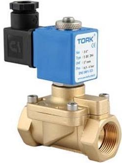 Elektromagnetický ventil na pitnou vodu TORK T-DW102 DN 10