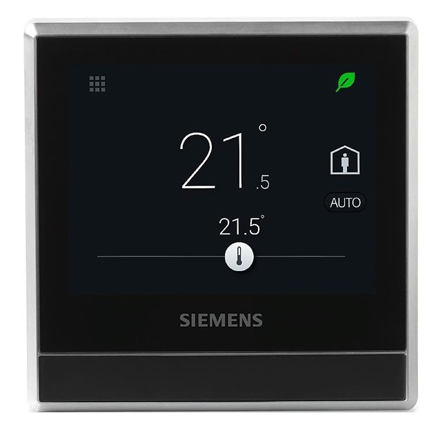 Chytrý prostorový termostat Siemens RDS110