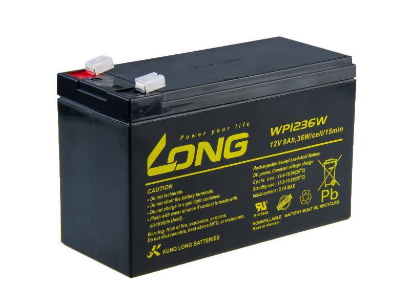 Akumulátor WP1236W pro záložní zdroj Integra Tech Heat Master F200