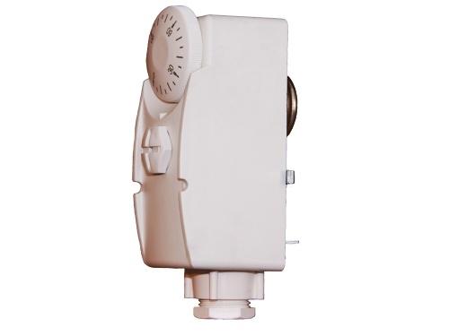 Příložný termostat s ovládacím kolečkem TG-7C1 0/90 °C
