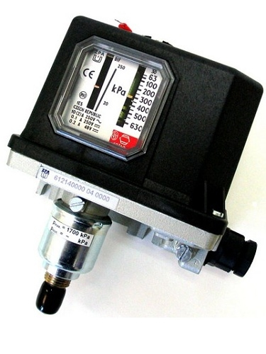 Regulátor tlaku vlnovcový ZPA EKOREG 612 146 042 rozsah 100...1000 kPA