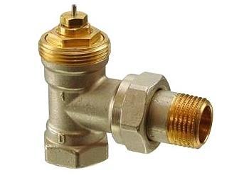 """Radiátorový ventil rohový Siemens VEN 120 3/4"""""""