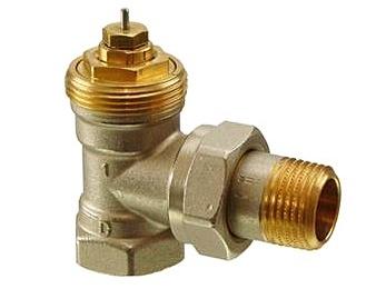 """Radiátorový ventil rohový Siemens VEN 215 1/2"""""""