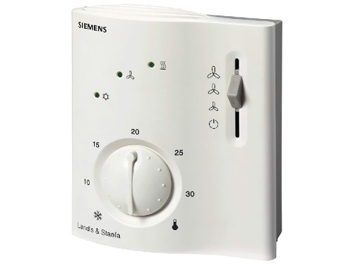 Regulátor prostorové teploty pro fan-coil Siemens RCC 30
