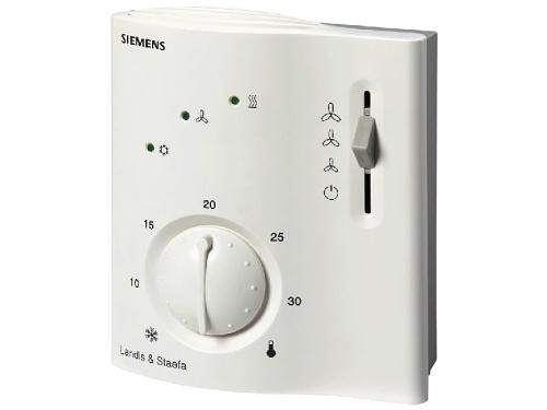Regulátor prostorové teploty pro fan-coil Siemens RCC 20
