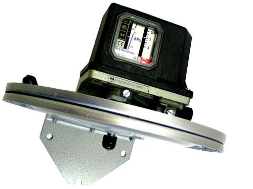 Regulátor tlaku membránový ZPA EKOREG 612 196 027 rozsah 1...10 kPA