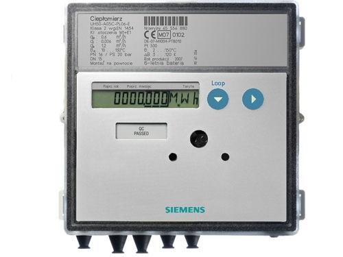 Ultrazvukový měřič tepla Siemens UH50-A50