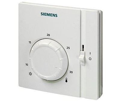 Prostorový termostat s ovládacím kolečkem Siemens RAA 31