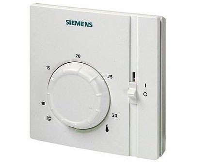 Pokojový termostat s ovládacím kolečkem Siemens RAA 31