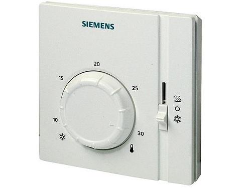 Prostorový termostat s ovládacím kolečkem Siemens RAA 41