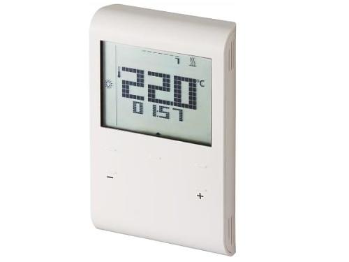 Programovatelný prostorový termostat Siemens RDE 100