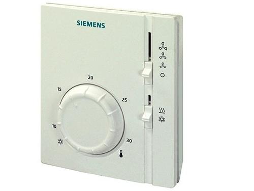 Prostorový termostat pro dvoutrubkový fan-coil Siemens RAB 11