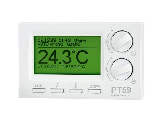 Termostat s OpenTherm komunikací Elektrobock PT59