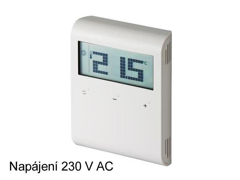 Digitální prostorový termostat Siemens RDD 100