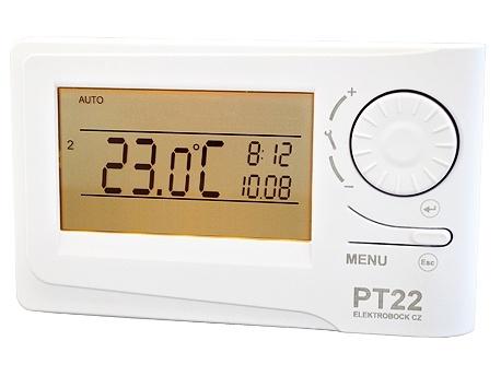 Prostorový termostat Elektrobock PT22